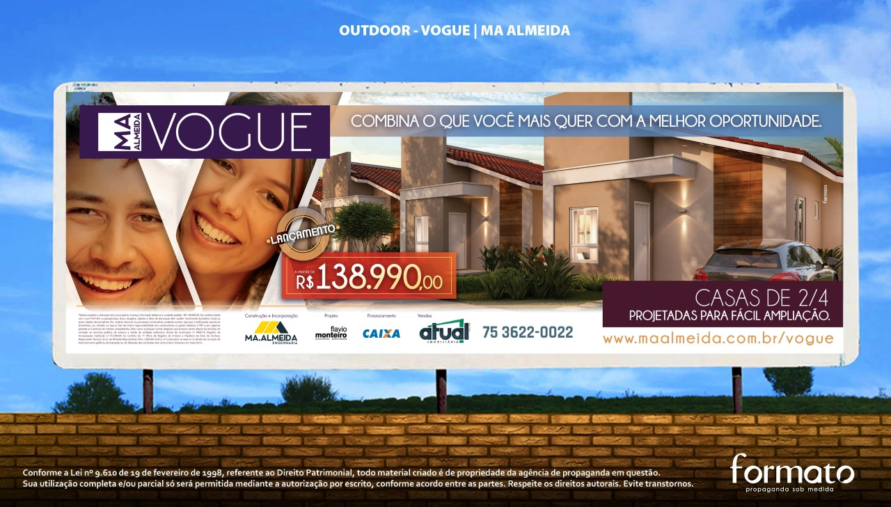 MA.ALMEIDA VOGUE - OUTDOOR